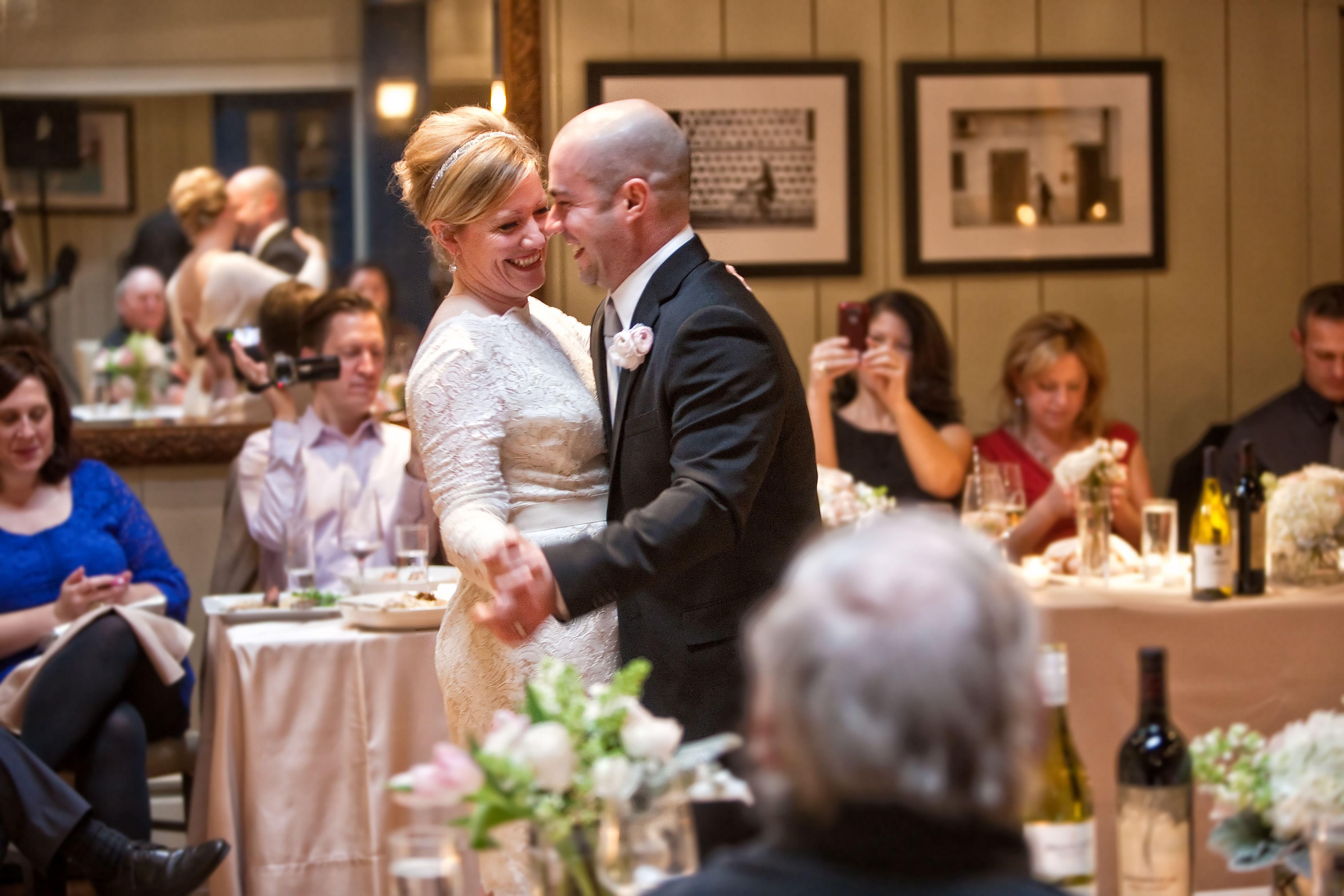 A beautiful, intimate wedding at Andiamo!