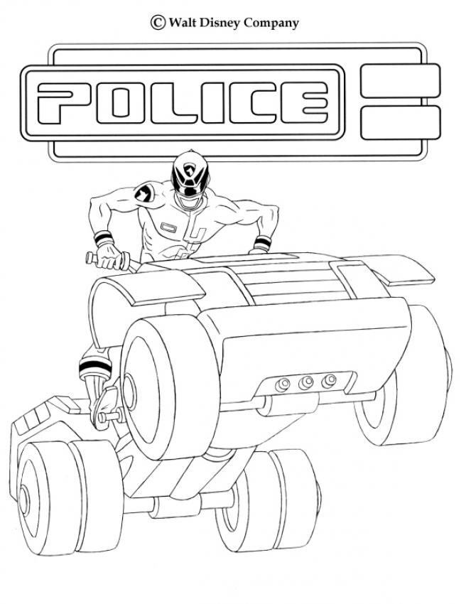 Power Ranger quand coloring. More TV series coloring sheets on ...