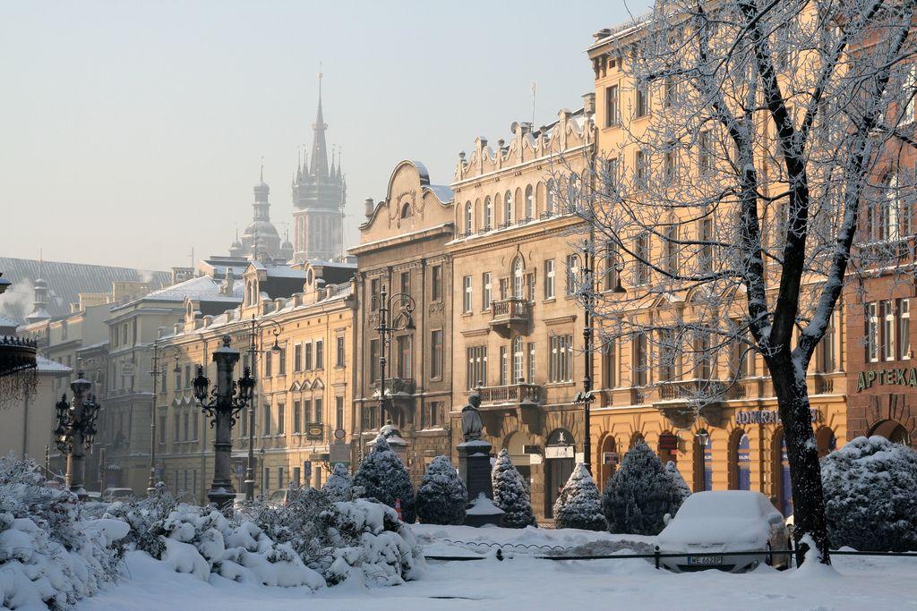 Image result for krakow in the snow Pinterest