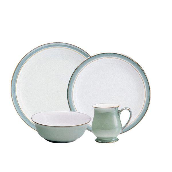 Denby Regency Green 16 Pieces For 4 616 00 Stoneware Dinnerware Stoneware Regency