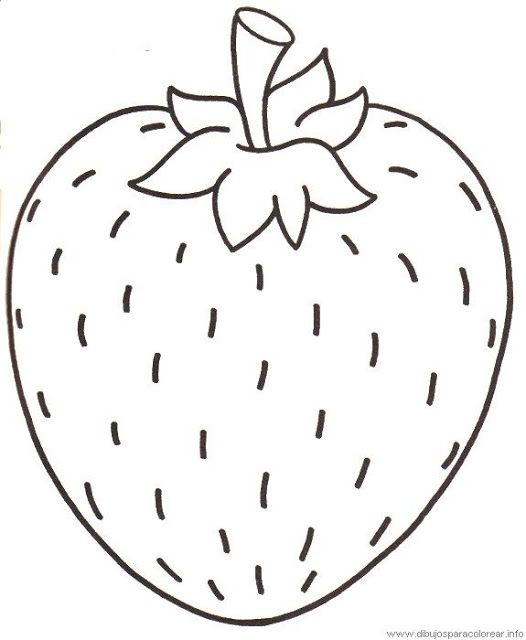 frutas coloring pages-#26
