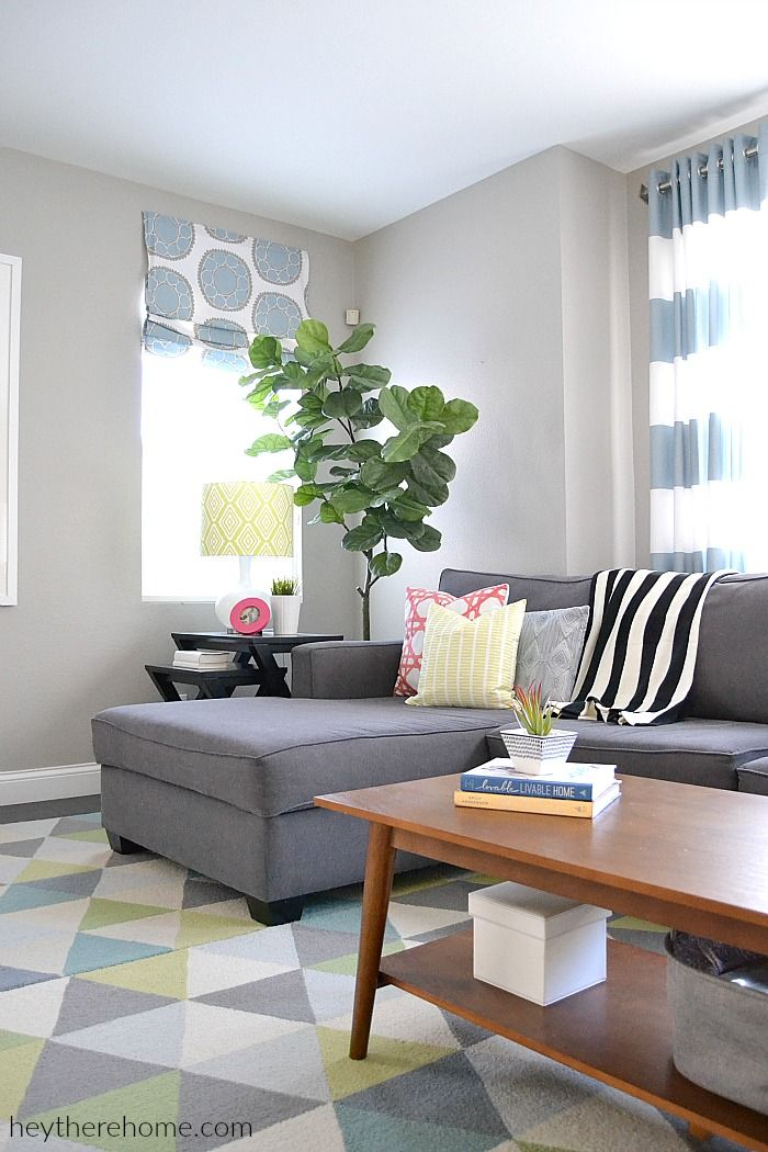 Best Family Room Refresh – Before And After Living Room 400 x 300
