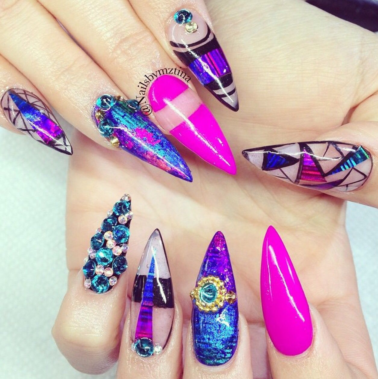 Jazzy Nails   Artists that inspire   Pinterest   Fabulous nails ...