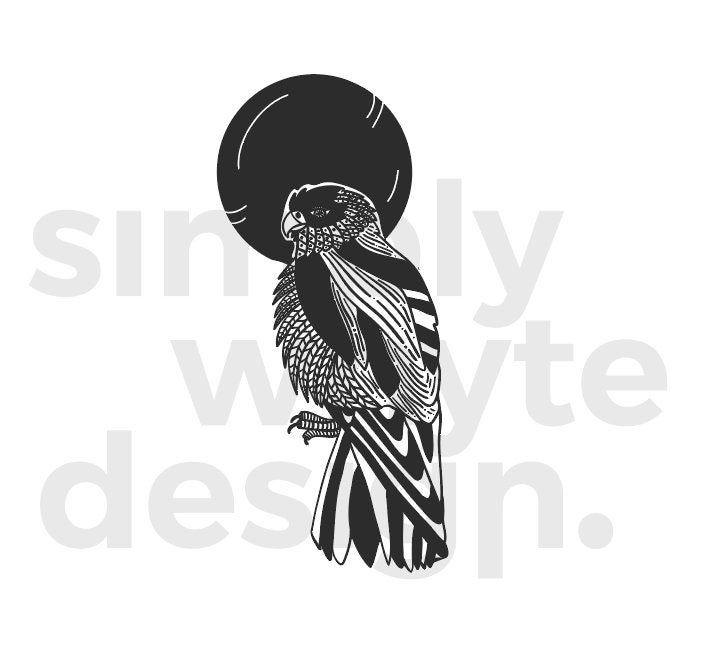 Eagle clip art Digital Vector Illustration eps, svg