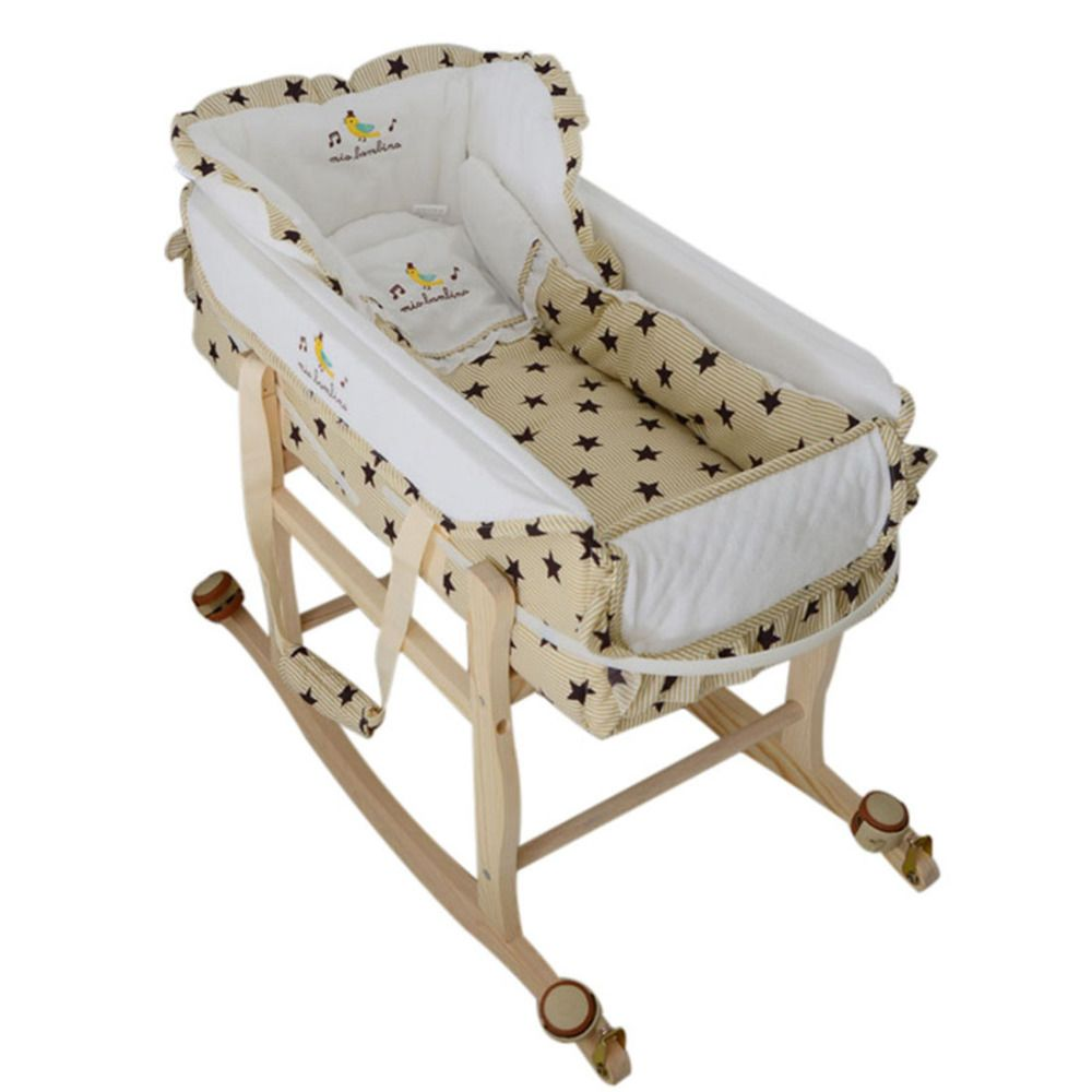 Multifunctional Baby Cradle with Pillow Price: 185.14 & FREE ...