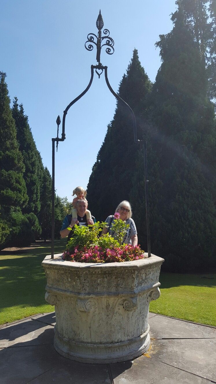 Granny, Lex and Kaycey-Anne at Craigtoun Park
