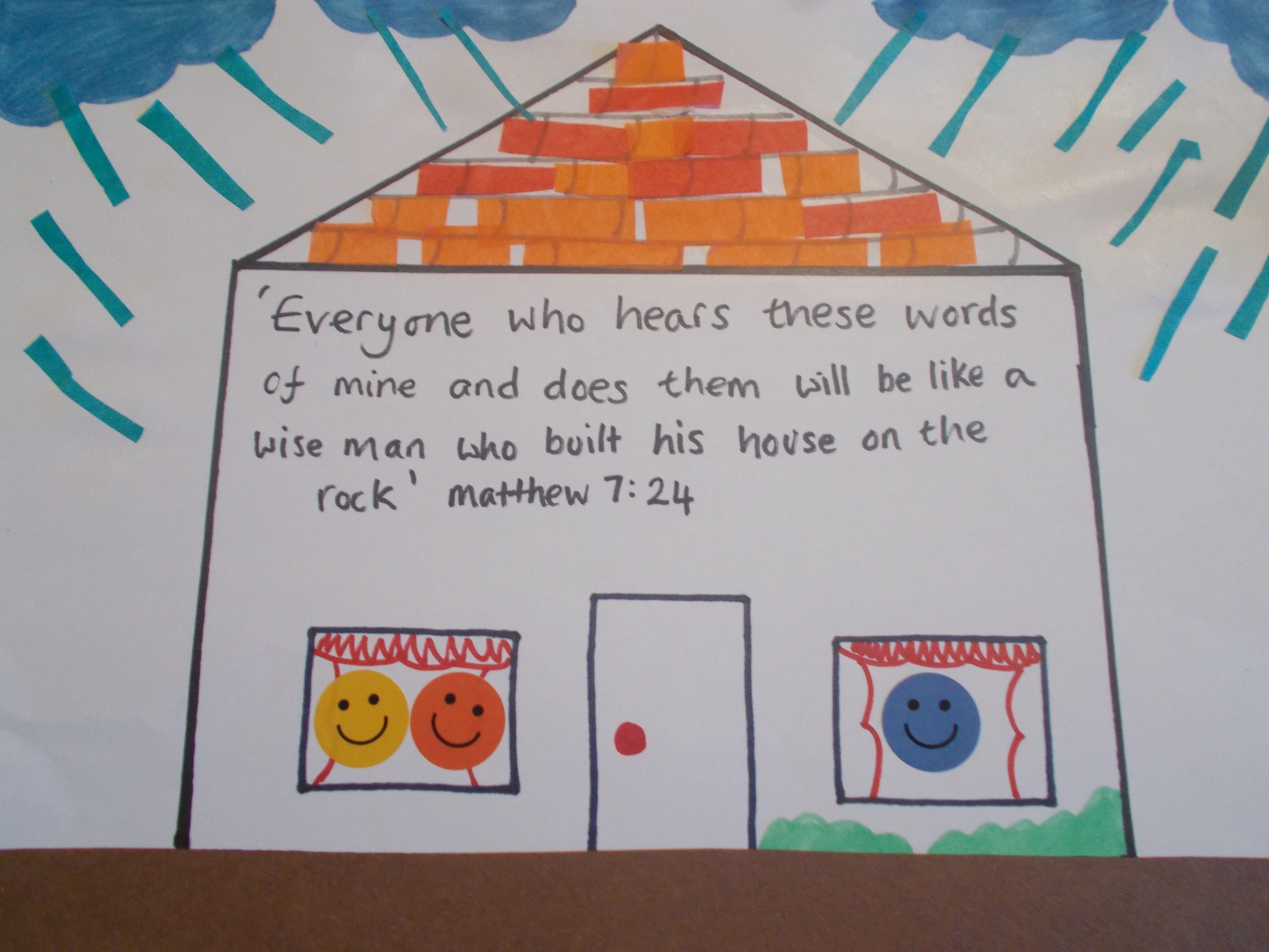 Wise And Foolish Builders Matthew 7