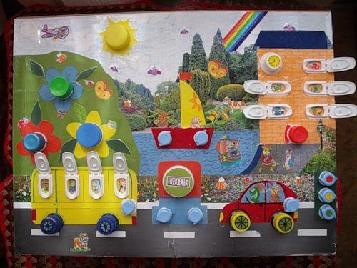 Развивающая игрушка для ребенка своими руками