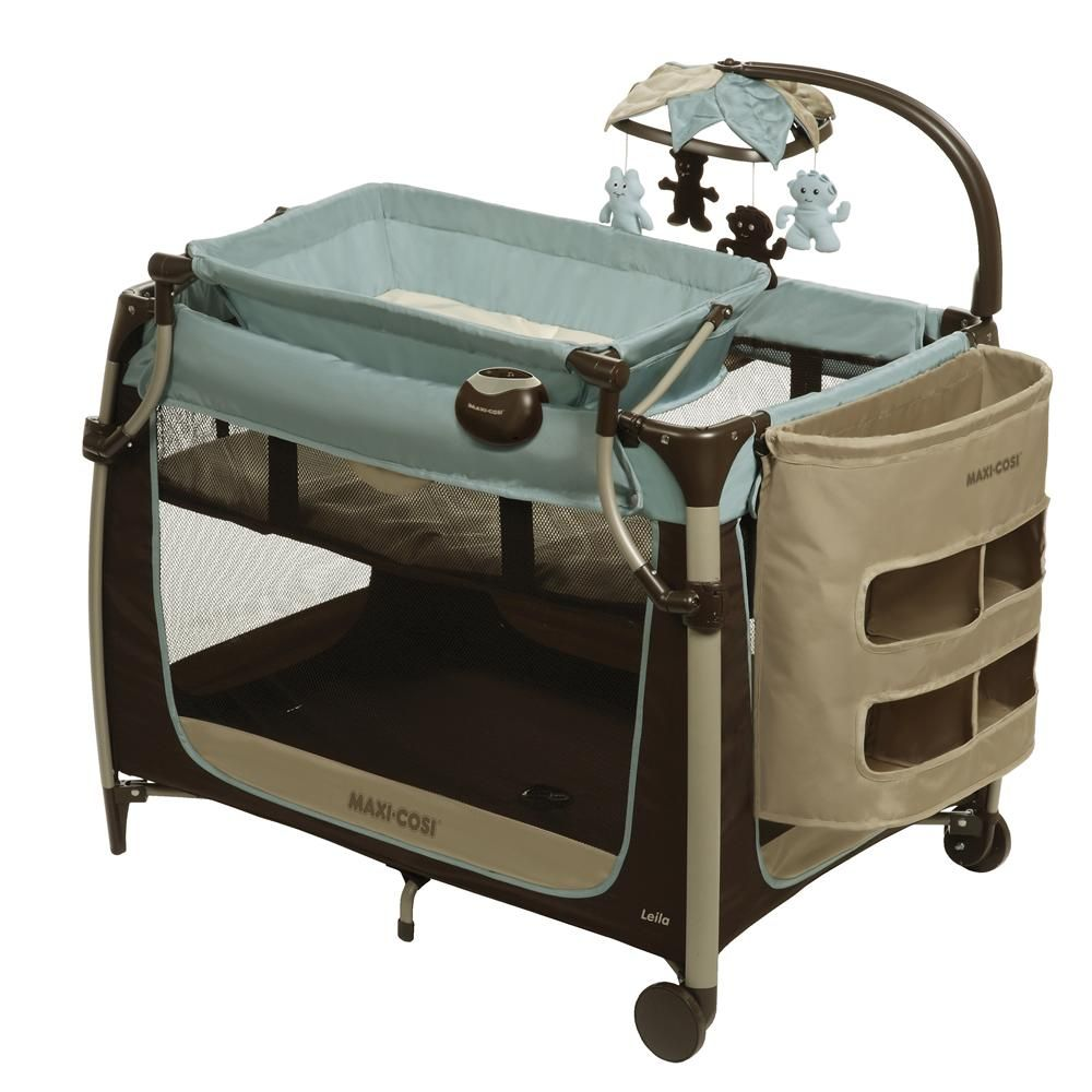 Bassinet, Changing Table And Pack N Play All In One!