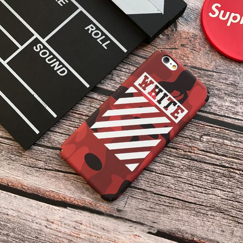 premium selection 50ca6 725dd RED MATTE CAMOUFLAGE OFF-WHITE PHONE CASE – hypedcase | iphone ...