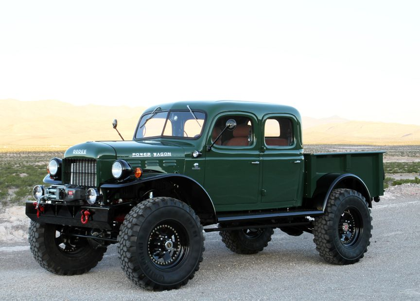 111 best dodge power wagon images on Pinterest | Classic trucks ...