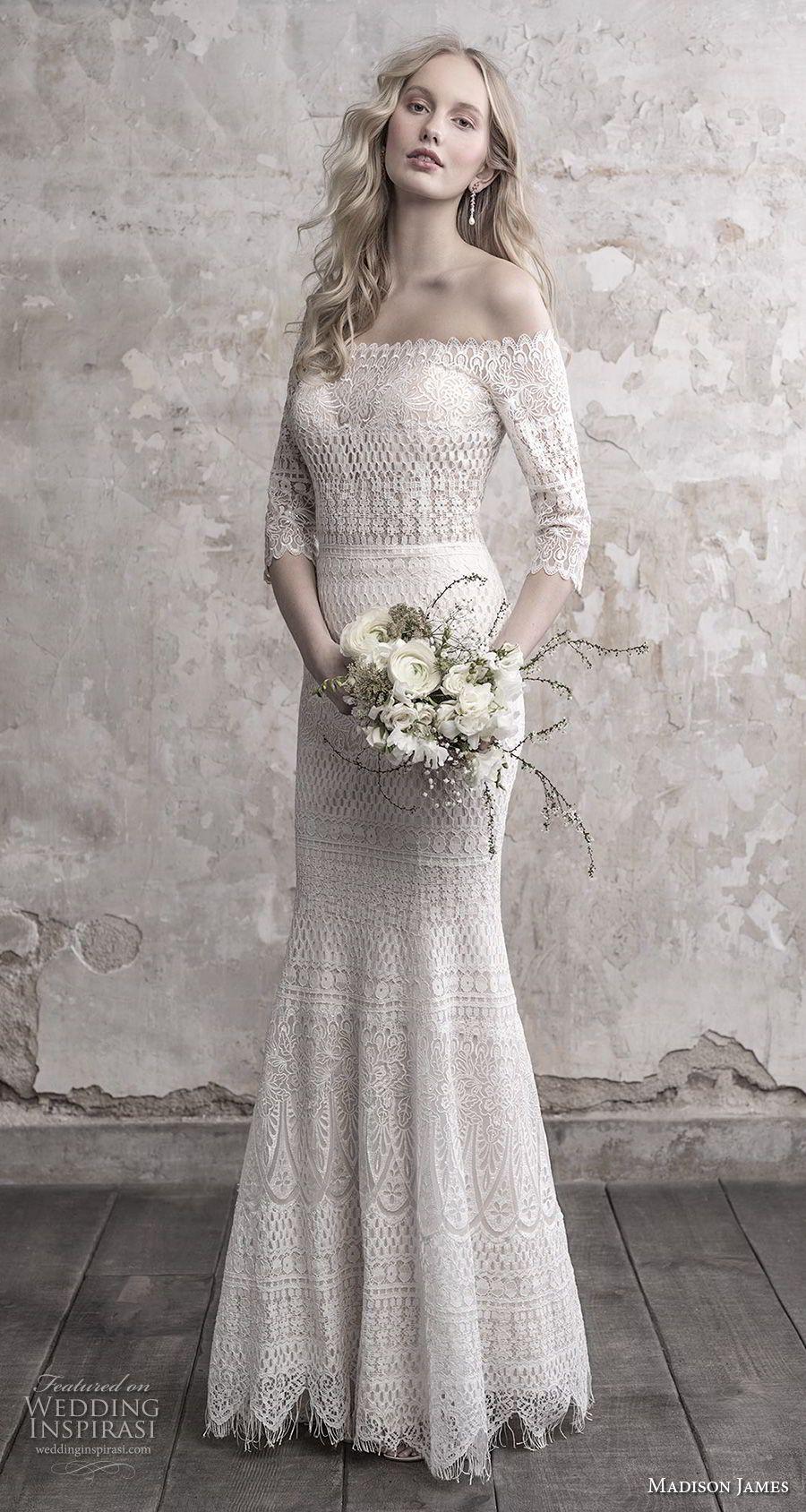 Madison James Fall 2018 Wedding Dresses Wedding Inspirasi Wedding Dress Styles Bridal Dresses Vintage Wedding Dresses Lace [ 1688 x 900 Pixel ]