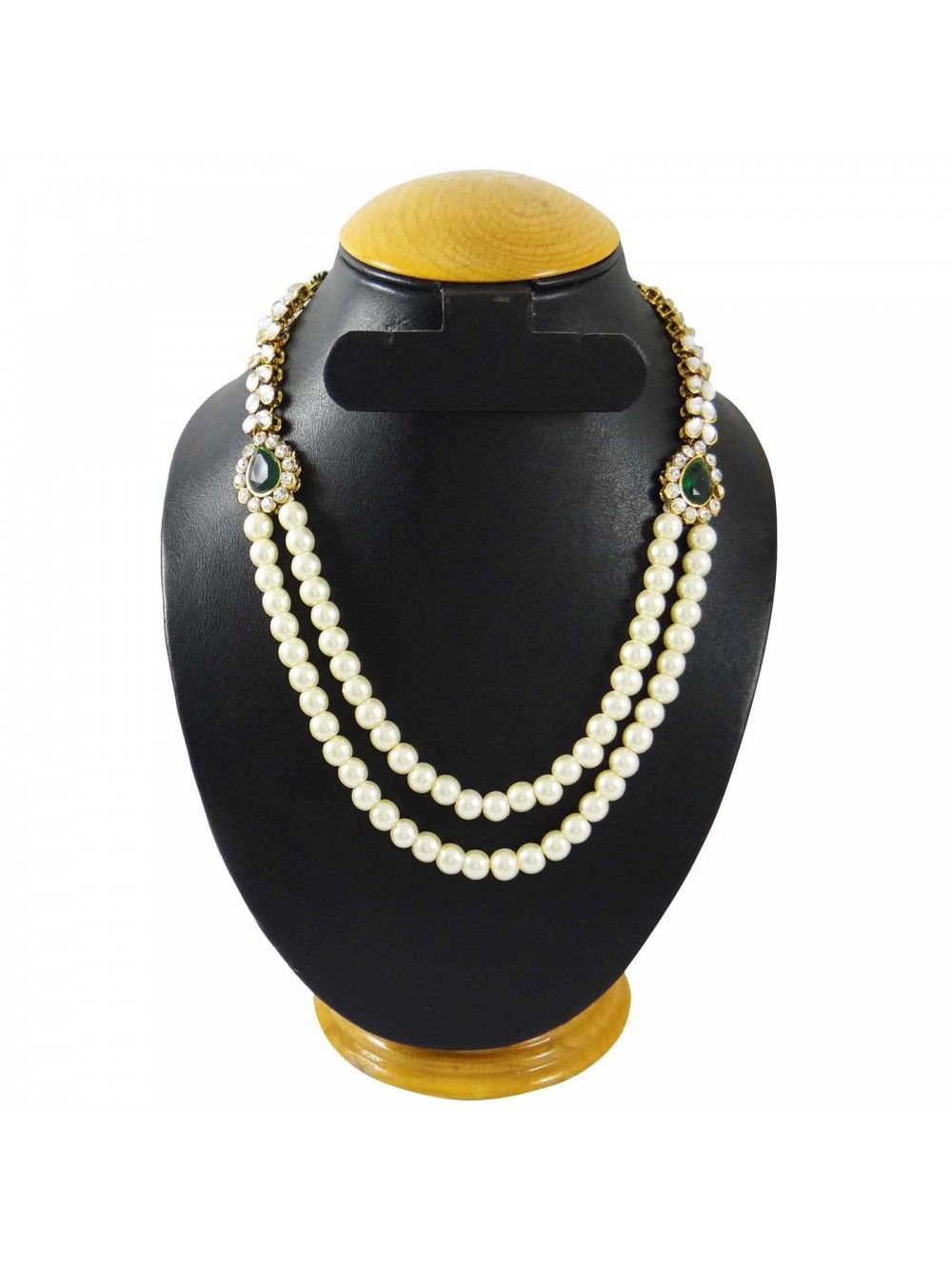 6dac176e02 Traditional Indian Ethnic Pearl Necklace Women Wedding Bollywood Jewelry  BNS8033A