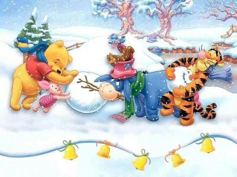 Xmas Winnie The Pooh Tigger Winter iphone case