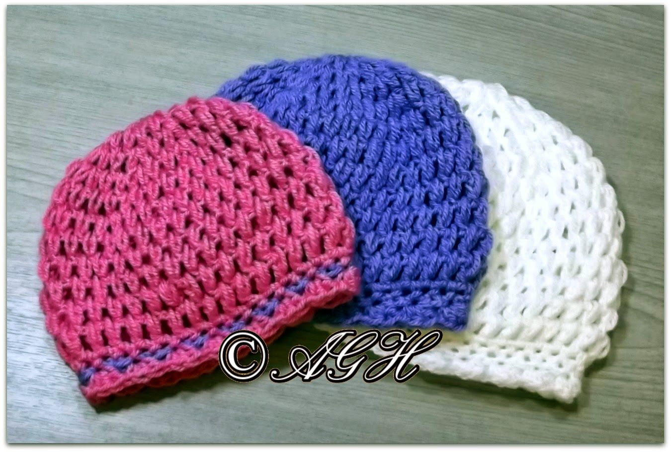 """""""Elianna"""" Puff Beanie (With images) Crochet baby hats"""