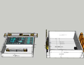 handwerkzeugeinsatz f r bosch l boxx werkzeugkoffer l boxx. Black Bedroom Furniture Sets. Home Design Ideas