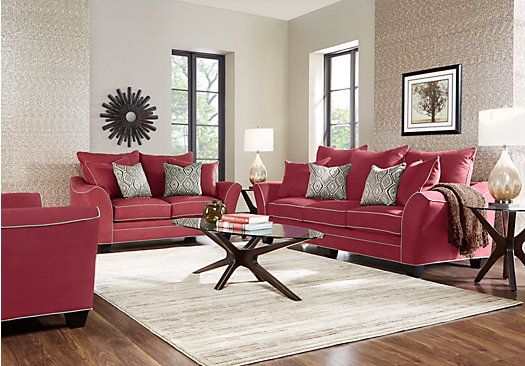 Aberdeen Cardinal 7 Pc Living Room . $1,899.99. Find Affordable Living Room  Sets For Your Home That Will Complement The Rest Of Your Furniture.