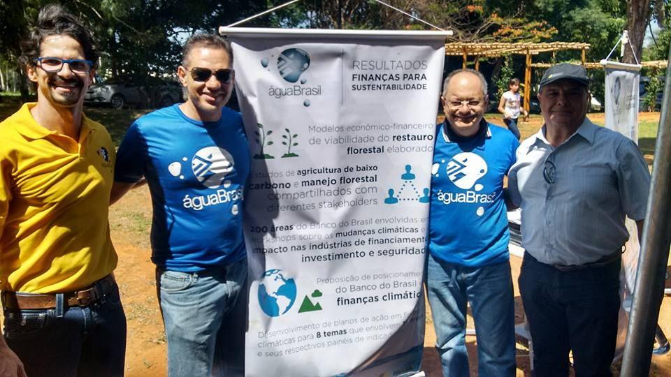 Água Brasil | Programa Água Brasil realiza evento para comemorar o plantio de um milhão de mudas.