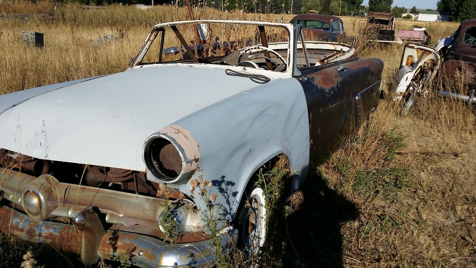 1954 Ford Crestline Sunliner Convertible Project car | Project ...