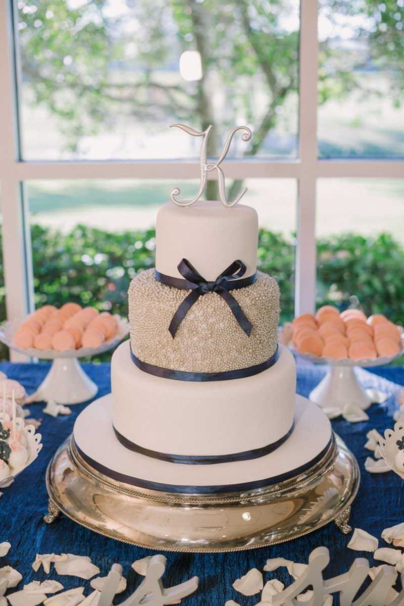 Navy and White Wedding at Plantation Golf & Country Club