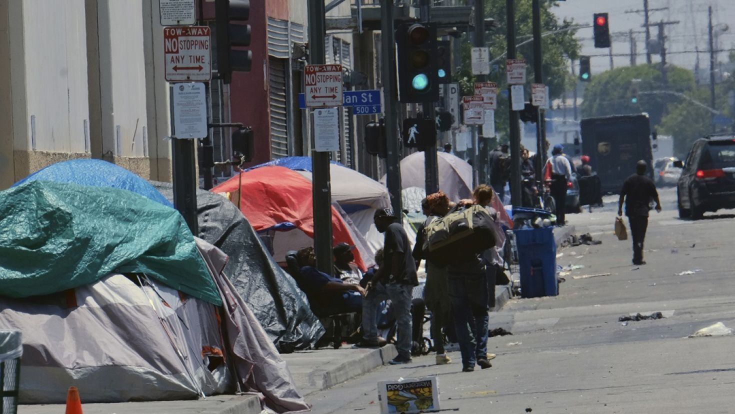 Homelessness Jumps 12 Across Los Angeles County Homeless People Homeless Los Angeles County