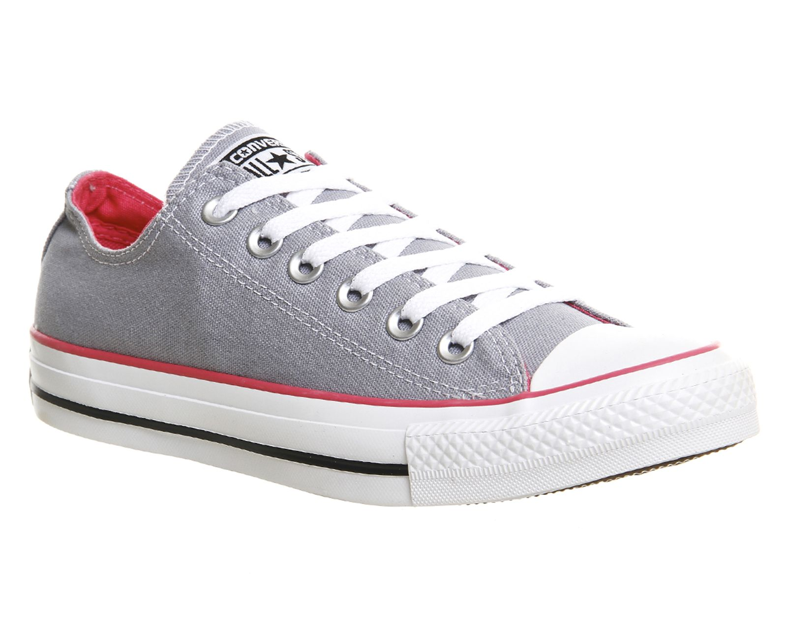 Converse All Star Low Grey Pink Canvas - Unisex Sports