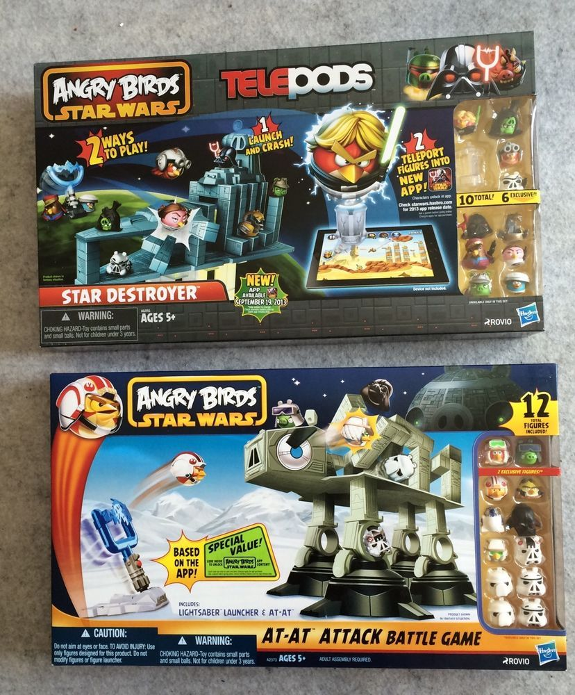 Angry Birds Star Wars At At Attack Star Destroyer Telepods With