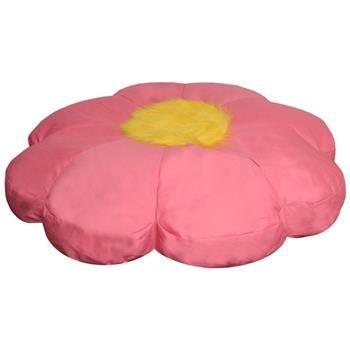 Flower Shaped Bean Bag In Pink Floor Pillows Kids Plush Flower