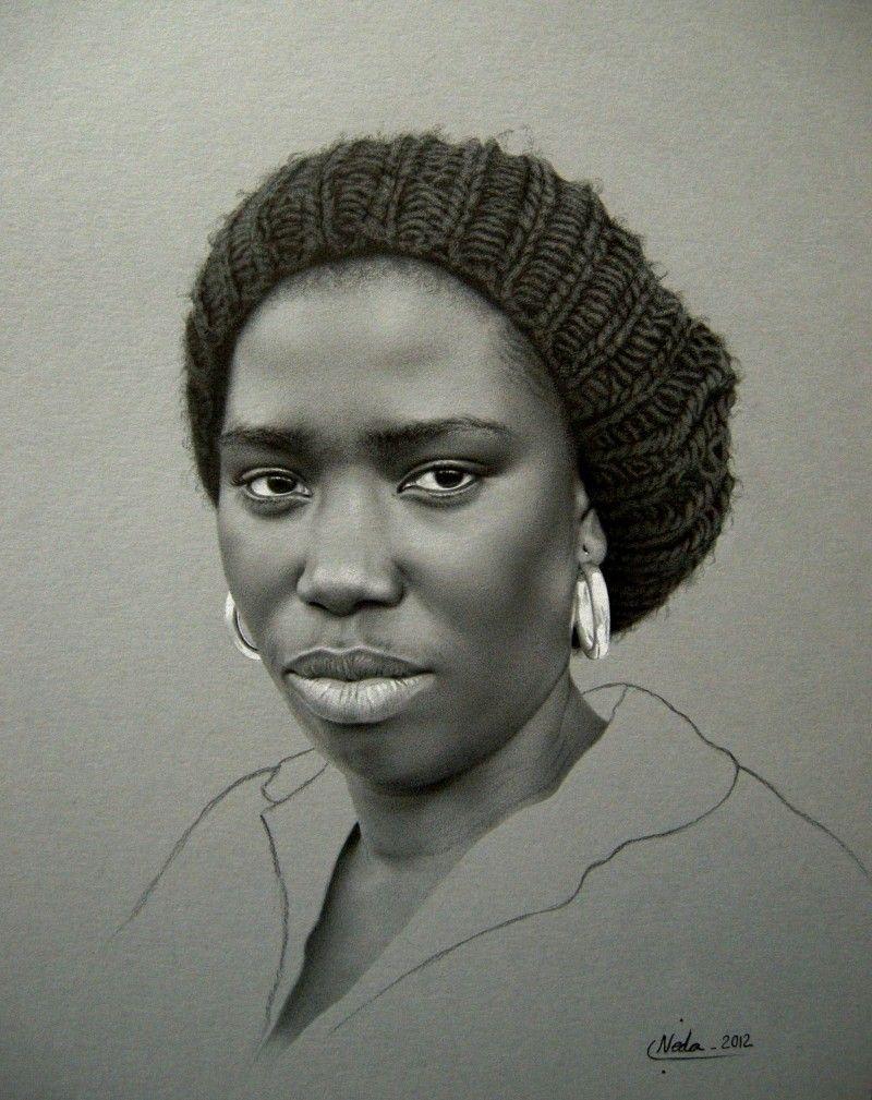 Mind Blowing Details Neda Sajadi Pencil Drawing