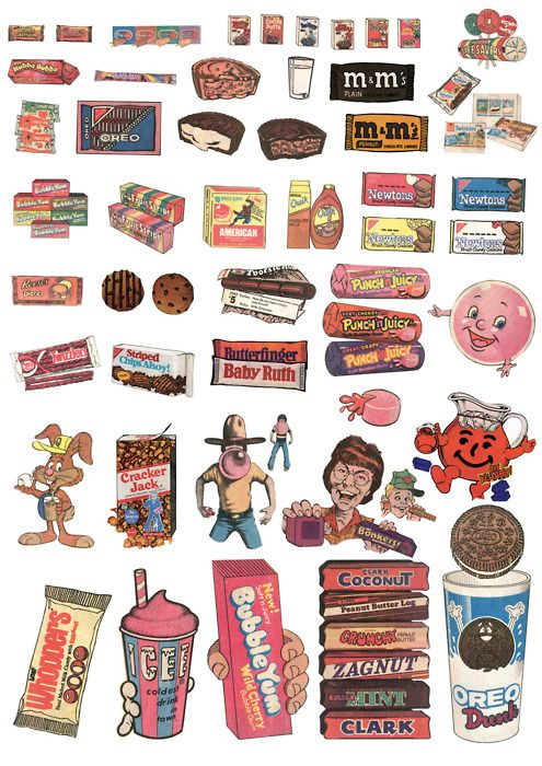 Back In The Day Print Stickers Aesthetic Stickers Cute Stickers