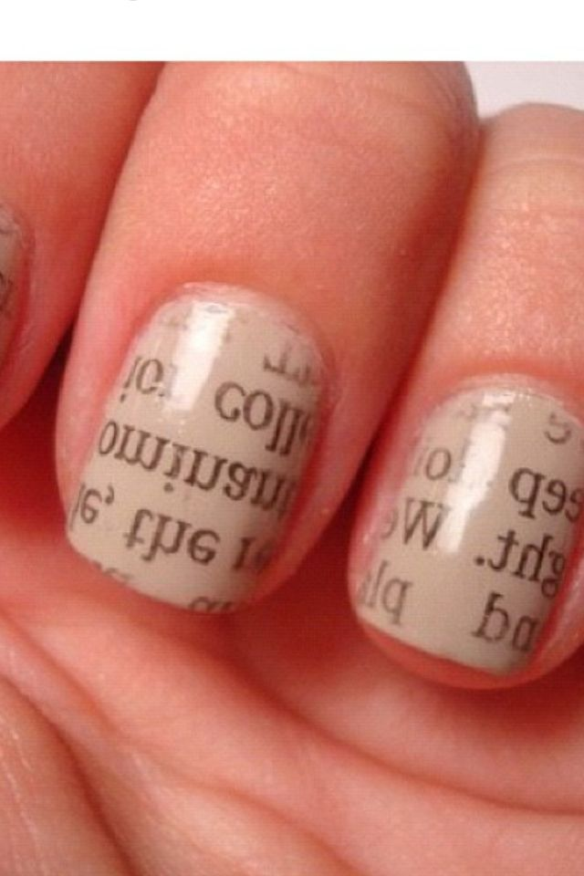 Looks cool but impossible yo do without sticker nails | Nails ...