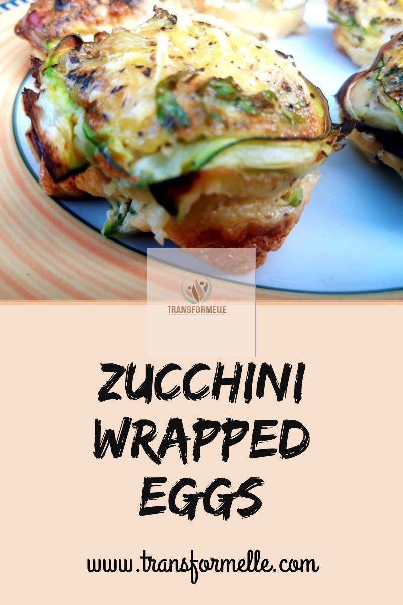 This recipe of eggs wrapped with zucchini, is easy to make, healthy and delicious  #glutenfree #lactosefree
