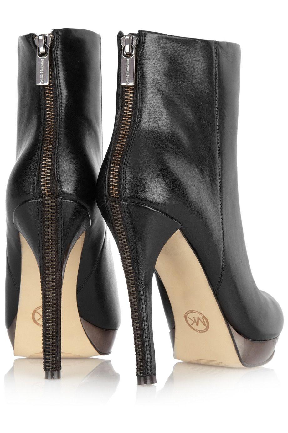 06d03a79d6d MICHAEL Michael Kors   Rochelle leather ankle boots   Style I ❤