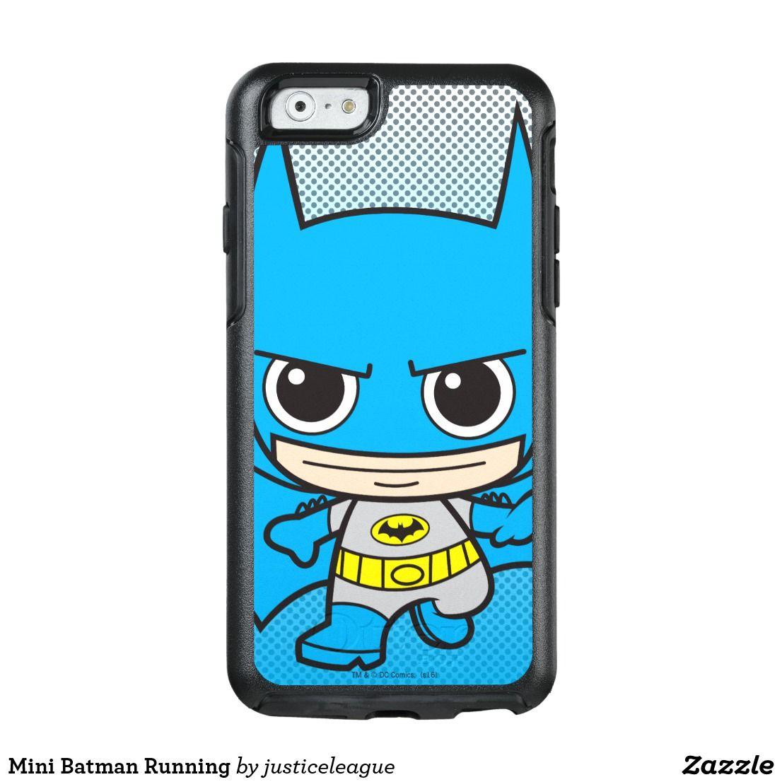 Mini Batman Running OtterBox iPhone Case