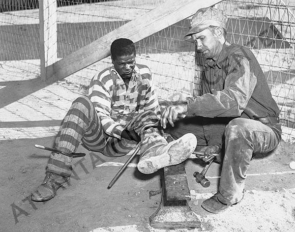 1950s Solid Prison Jumpsuit And Cap Thrill Me Prison Prison