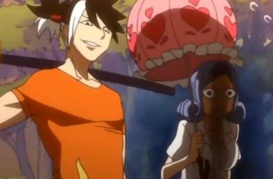 Totomaru with (jealous) Juvia ~Fairy Tail OVA~ my screenshot