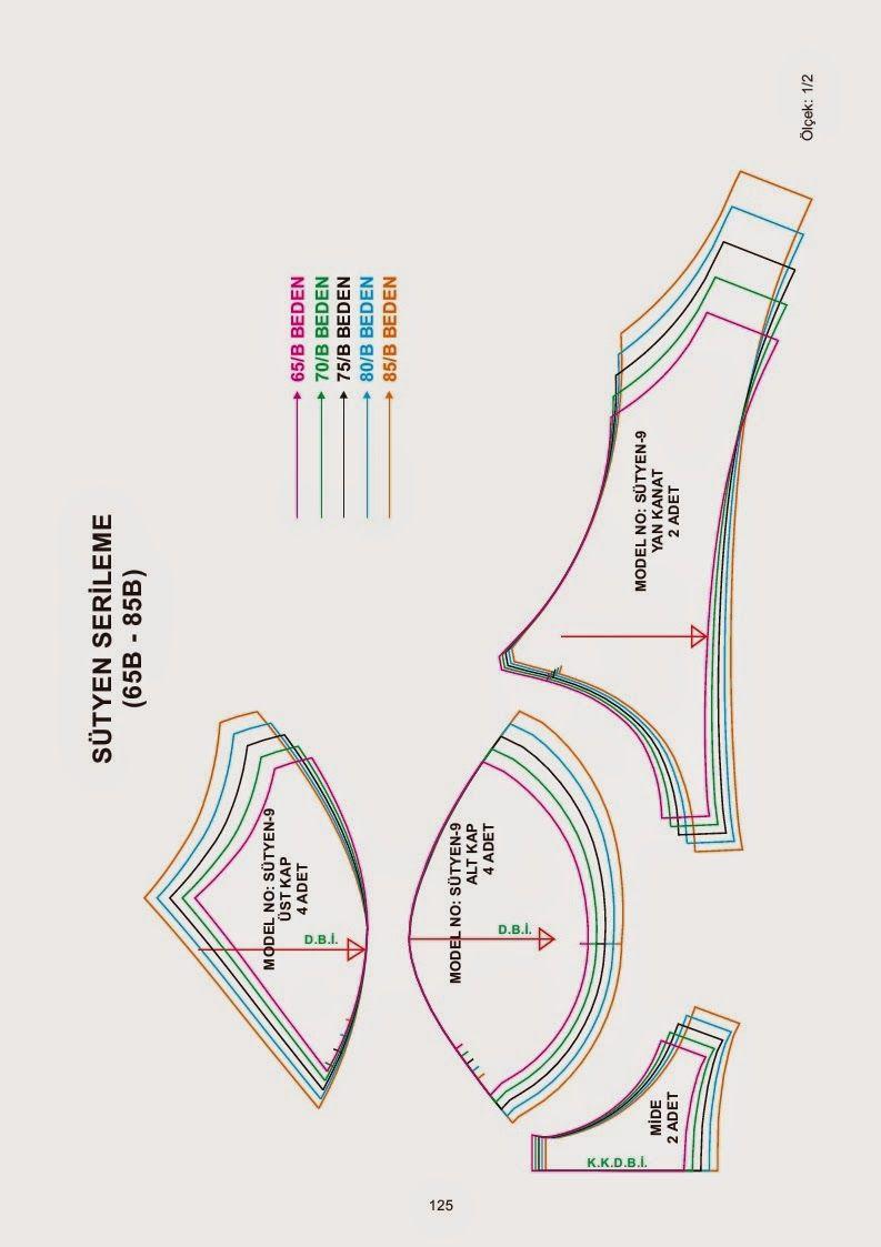 pattern | cuom | Pinterest | Patrones, Ropa interior y Costura