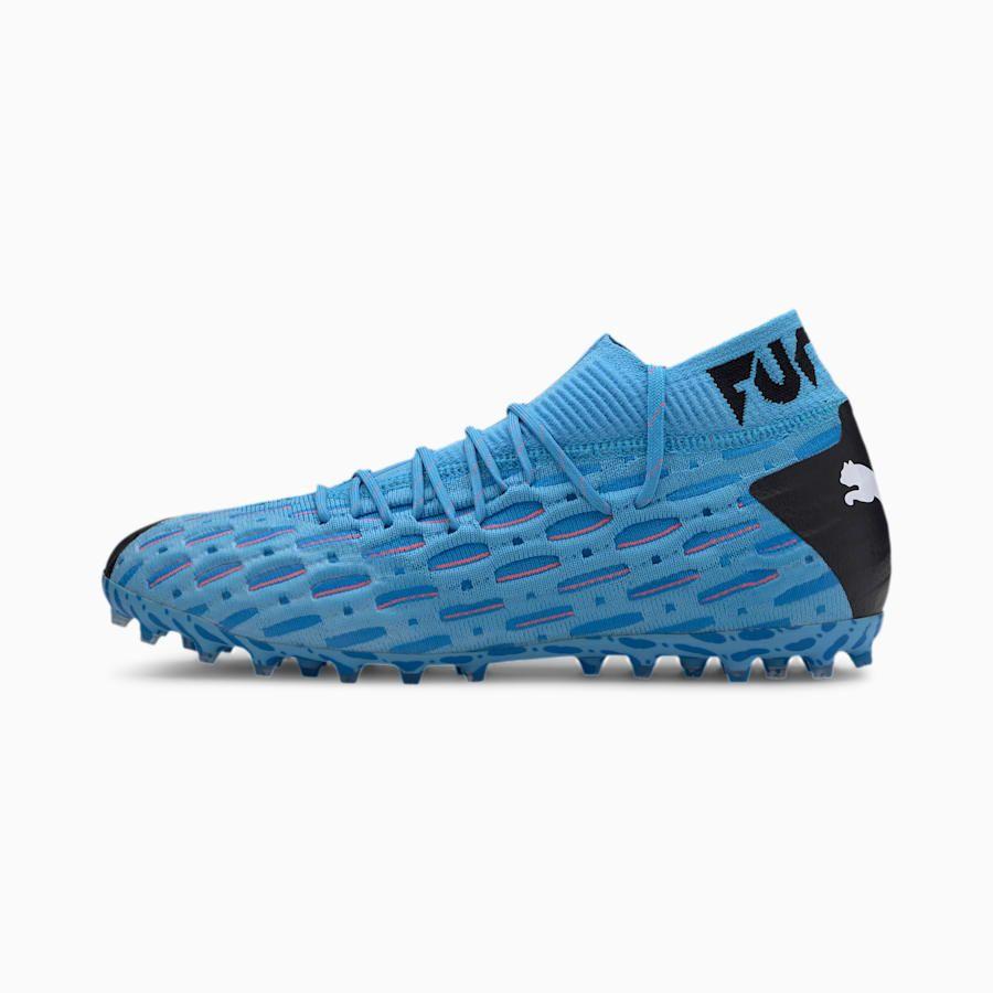PUMA Future 5.1 NetFit MG Men's Football Boots in Blue/Black ...