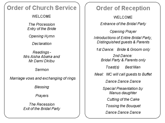 wedding reception in church wording google search projects to