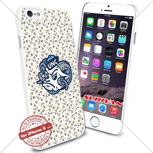 New iPhone 6 Case North Carolina Tar Heels Logo NCAA #1385 White Smartphone Case Cover Collector TPU Rubber [Anchor] SURIYAN http://www.amazon.com/dp/B015047MN8/ref=cm_sw_r_pi_dp_oAIzwb086D1A7