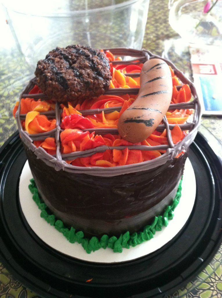 Labor Day Cake With Images Bbq Cake Labor Cake Summer Cakes