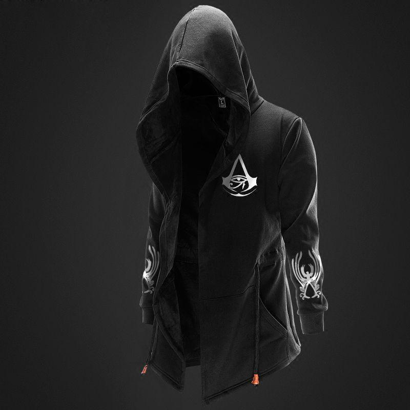 Assassins Creed Hoodies 3D Streetwear Hoody Assassin/'s Long sleeve Pullover