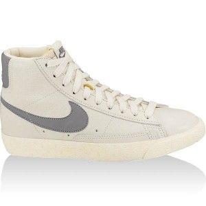 competitive price 5bd73 4d27d original Chaussures Nike Blazer Mid Premium Vintage Femme natural grise  Vente en Ligne France