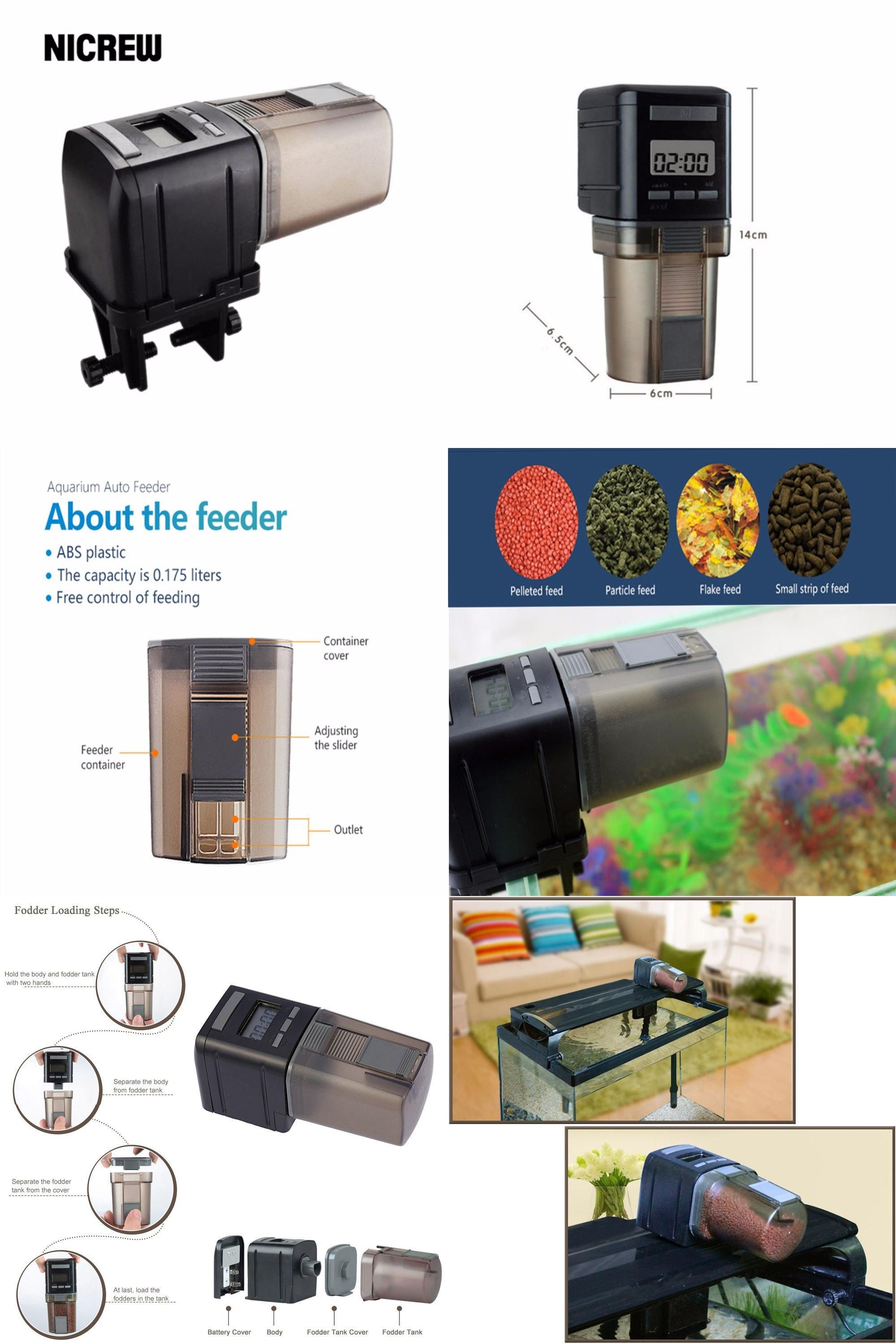 fish for aquarium air connection powered ekomixo hydor food original feeder pin battery automatic with