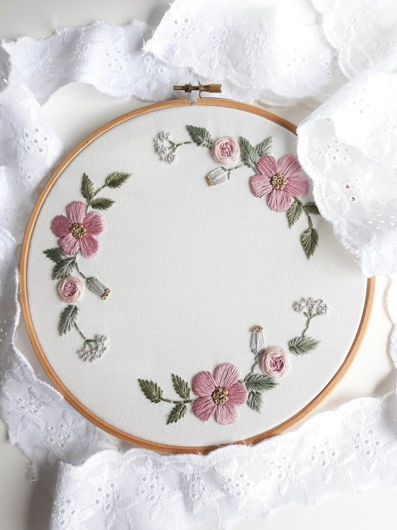 Customizable embroidery hoop, embroidery hoop for weddings, embroidery hoop for baby names, wall decoration, personalized gift, custom decor