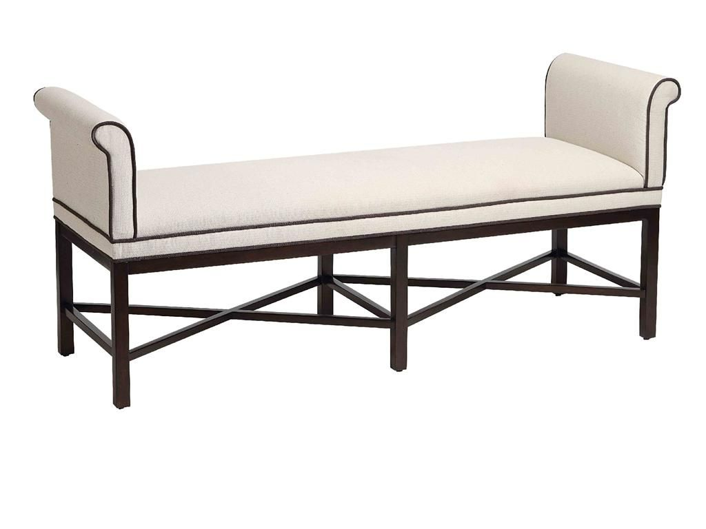 Stein World Living Room Kelly Transitional Roll Arm Bench