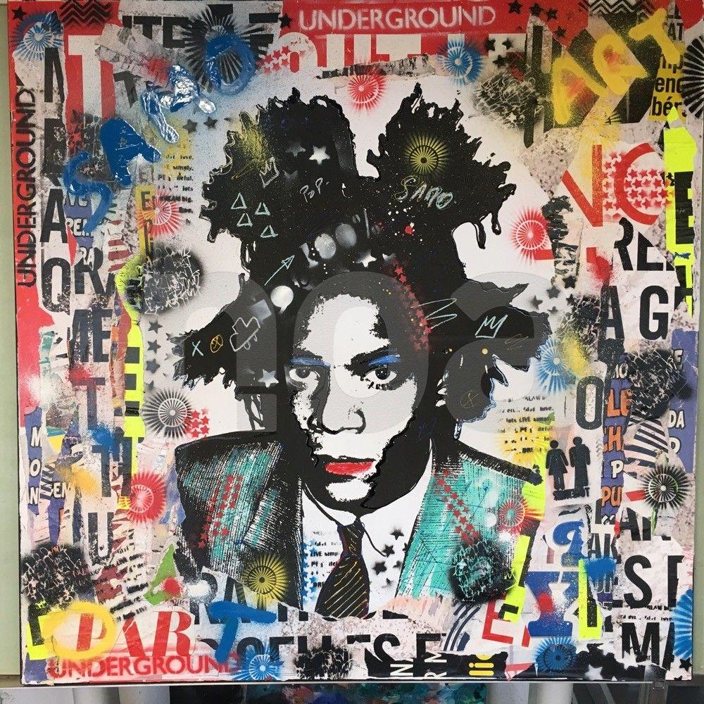 #tableau #contemporain #artiste #kikayou #biarritz #basque #art #basquiat