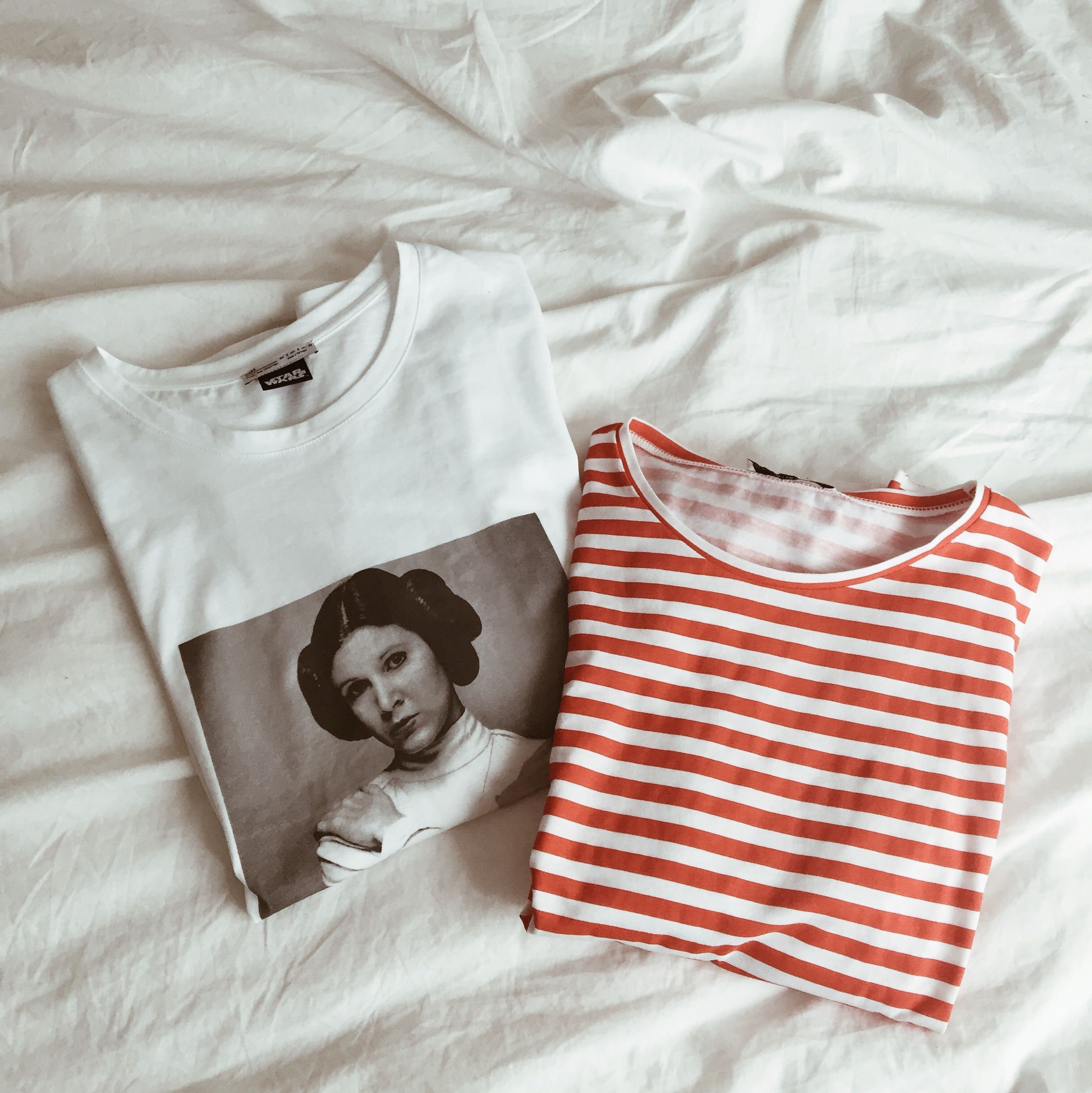 zara, spring, summer, shirts, princess leia, carrie fisher, stripes