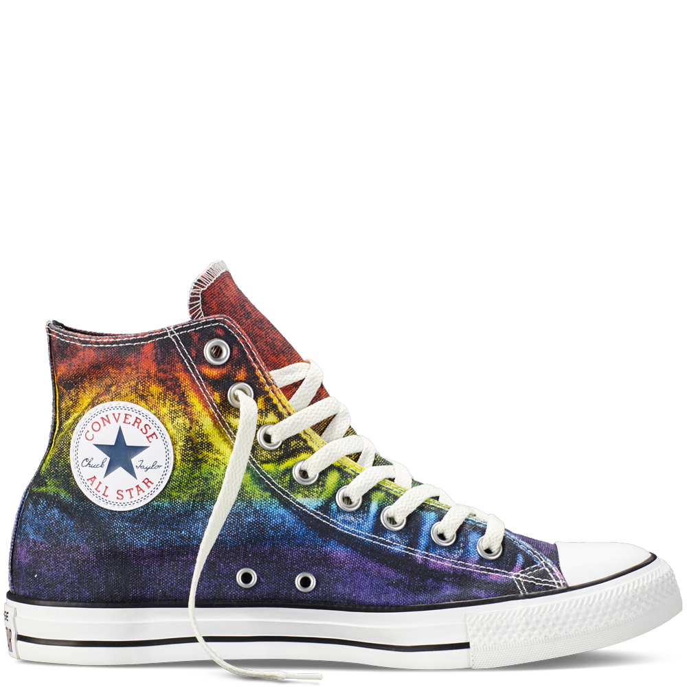 fbb65609b057 Converse - Chuck Taylor All Star Pride - Red Yellow Purple - Hi Top AWESOME  I WANT A PAIR!