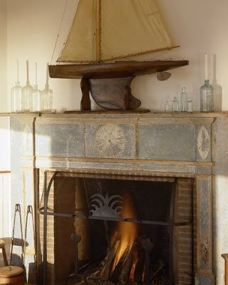 13 Fireplaces For People Who Love The Sea In 2020 Cottages By